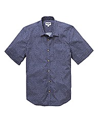 Label J SS Anchor Print Shirt L