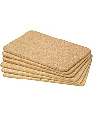 Cork Place Mats Pack of 6