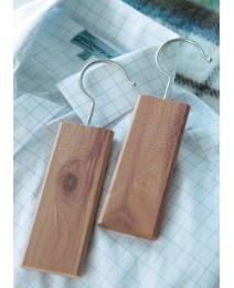 Cedar Block Hangers Pack of 2