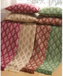 Fleur De Lys Throw Buy One Get One Free