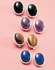 Cabochon Jewellery Earring