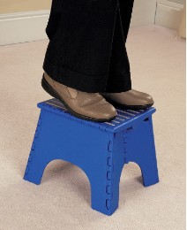 Portable Pop Up Step Stools One Step