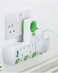 4 Way Plug Adapter