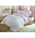 Pintuck and Quilted Bedding Bedspread