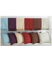 Cotton Checked Cushion Covers Pack of 4