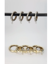 Whisper Curtain Rings Pack of 6