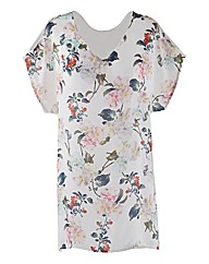 Edit Floral Print Tunic