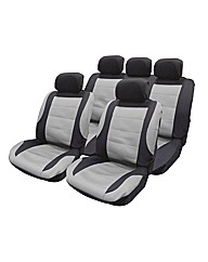 Mesh Fabric Seat Cover Set