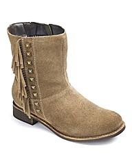 Catwalk Flat Fringe Boots EEE Fit
