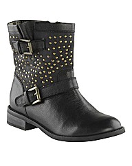Joe Browns Studded Ankle Boots EEE Fit