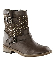 Joe Browns Studded Ankle Boots E Fit