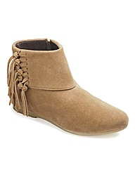 Catwalk Fringe Boots E Fit