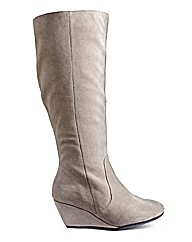 Legroom Wedge Boot Standard Leg EEE Fit
