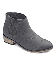 Sole Diva Low Cowboy Boot E Fit