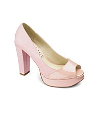 Claire Richards Peep Toe Shoe EEE Fit