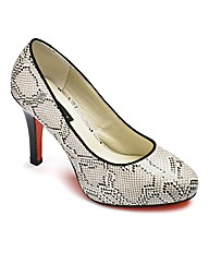 Anna Scholz Court Shoe EEE Fit