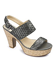 Jeffrey and Paula Woven Shoe EEE Fit