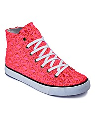 Sole Diva Lace Hi Top EEE Fit