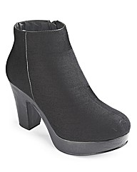 Sole Diva Platform Boot EEE Fit