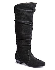 Legroom High Leg Boot E Fit Curvy Calf