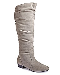 Legroom High Leg Boot EEE Curvy Calf