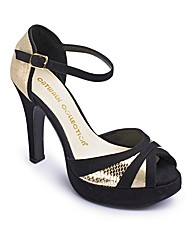 Catwalk Platform Sandals EEE Fit