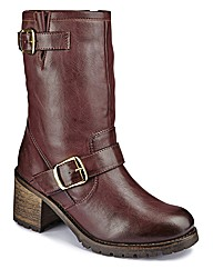 Catwalk Collection Biker Boot EEE Fit