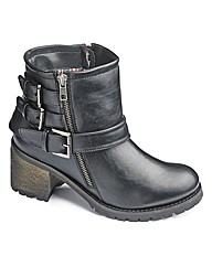 Catwalk Collection Buckle Boot EEE Fit