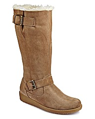 Heavenly Soles Mid Calf Boot EEE Fit