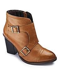 Catwalk Collection Buckle Boot E Fit