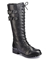 Joe Browns Lace Boots Super Curvy EEE
