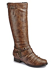 Joe Browns Zip Boot Super Curvy E Fit