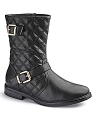 Natures Own Quilted Biker Boot EEE Fit