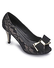 Sole Diva Peep Toe Platform E fit