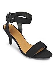 Sole Diva Strappy Shoes E Fit