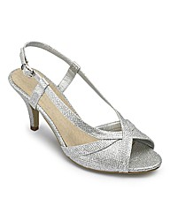Sole Diva Glitter Shoes E Fit