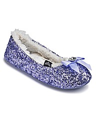 Pretty You Sequin Ballerina Slipper
