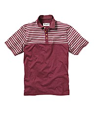 Label J Aztec Print Polo Regular