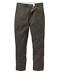 Black Label Flannel Trousers 29In Leg