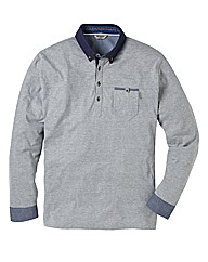 Mish Mash Delta Long Sleeve Polo