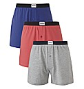 Jacamo Pack of 3 Loose Fit Knitted Boxer