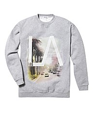 Label J LA Crew Neck Jumper