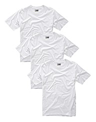 Joe Browns Pack 3 Big White Tees