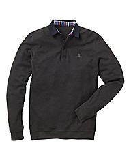 Black Label Long Sleeved Polo Reg
