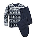 Jacamo Polar Fleece Pyjama Set