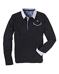 Hamnett Long Sleeve Polo Top