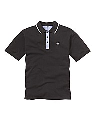 Hamnett Gold Short Sleeve Polo