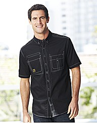 Hamnett Swirl Short Sleeve Shirt Regular