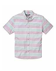 Label J Striped Oxford Shirt Long
