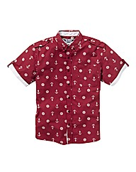 Label J Anchor Print Shirt Regular
